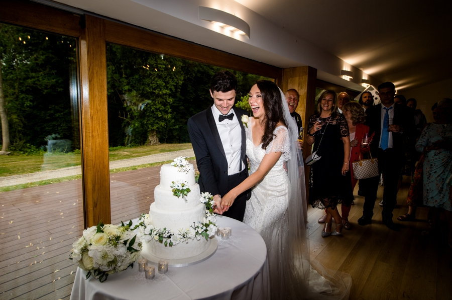 Cake Cut at Colville Hall