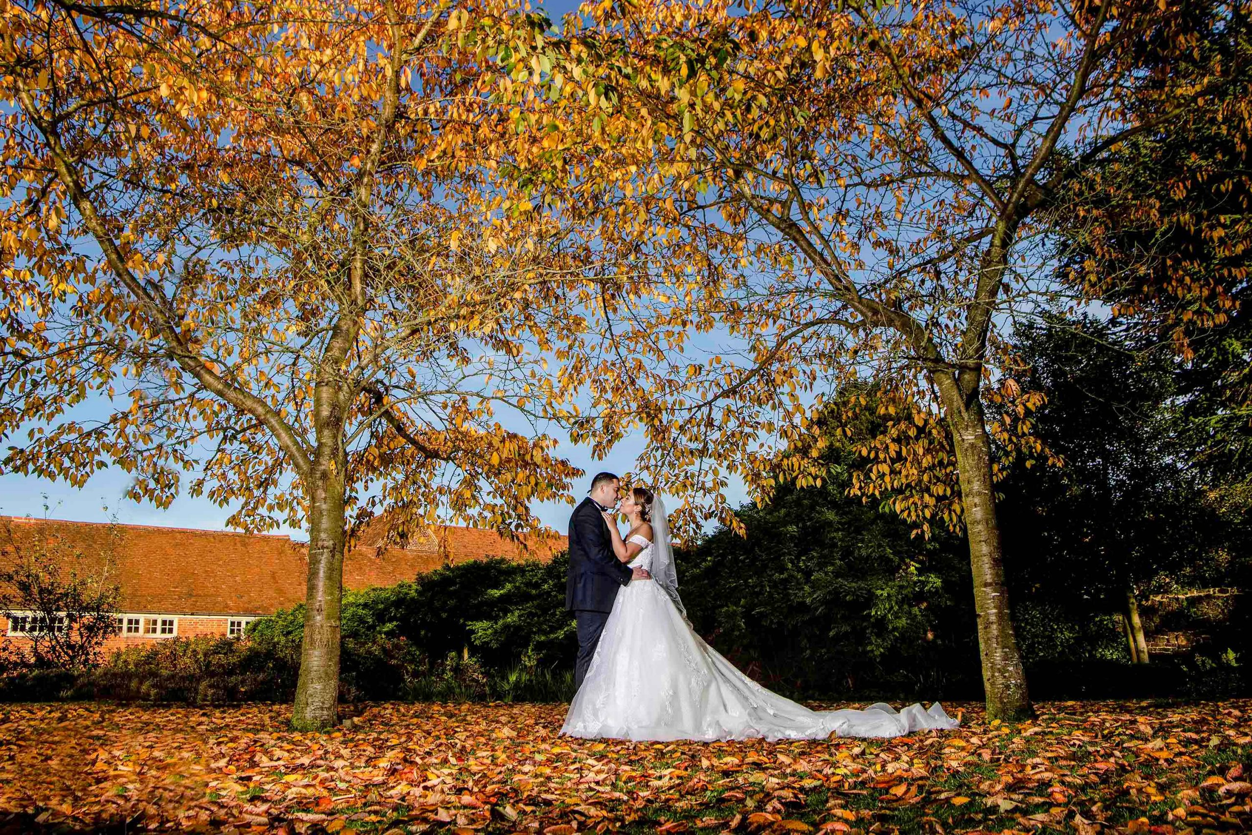 Wedding photography at Forty hall